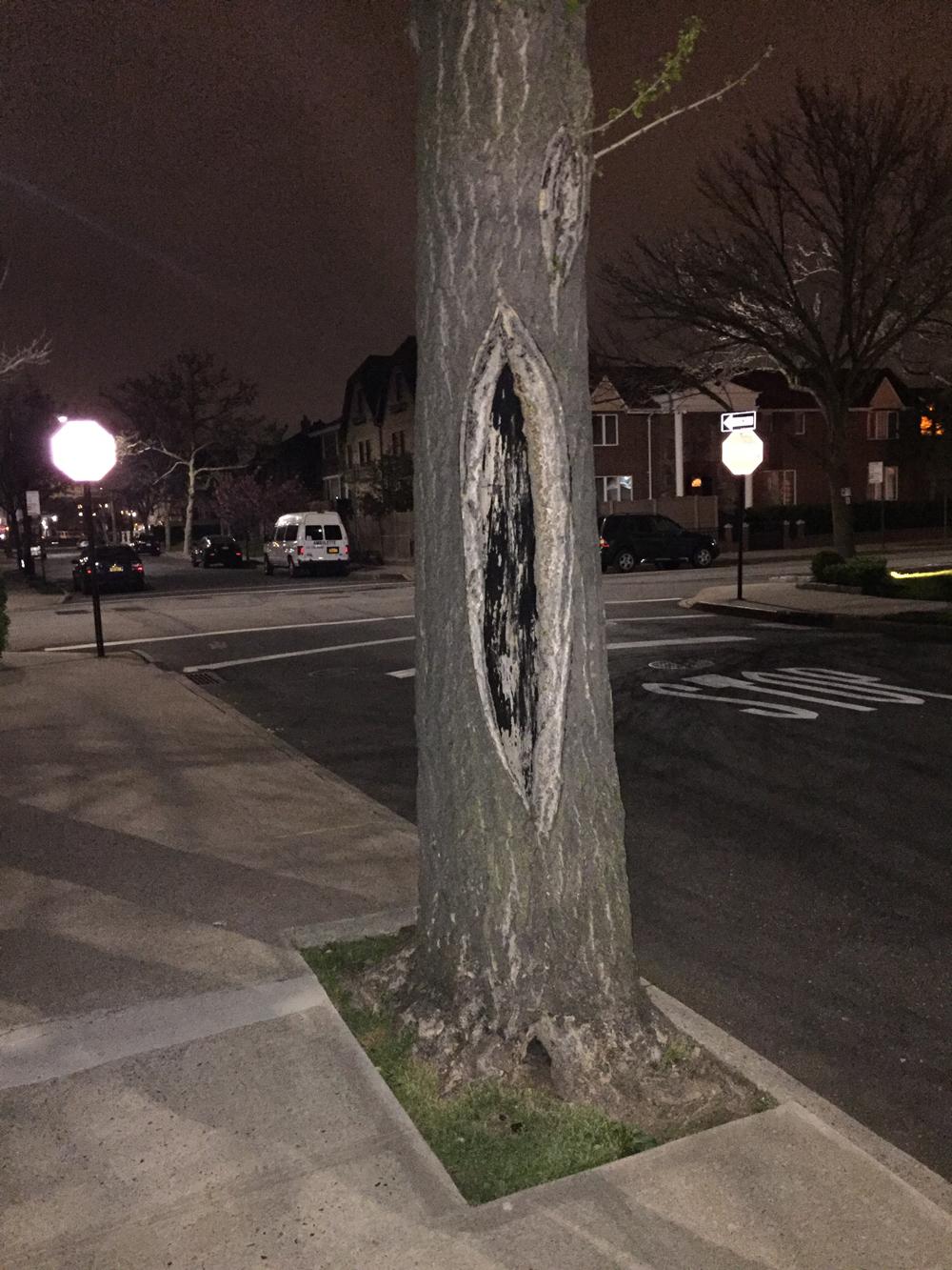 Дерево с пиздой